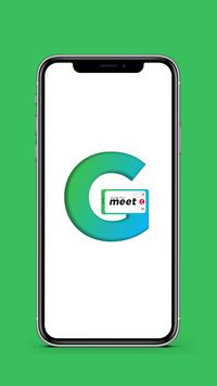 Guide for Google meet Video Conferences meeting poster