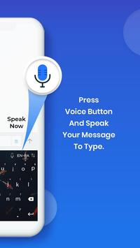 English Voice Typing Keyboard screenshot 2