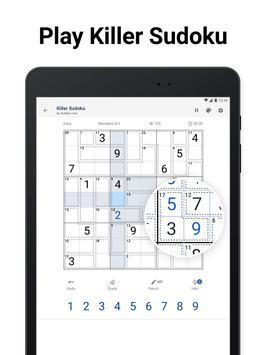 Killer Sudoku screenshot 16