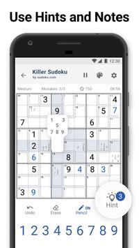 Killer Sudoku screenshot 6