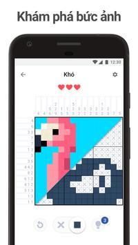 Nonogram.com - Trò chơi ghép ô chữ hình ảnh
