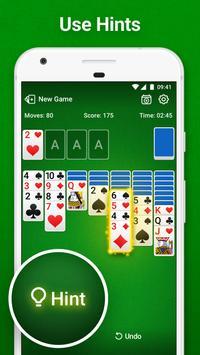 Solitaire – Classic Klondike Card Game скриншот 2