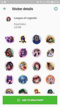 WAStickerApps - Games stickers for Whatsapp スクリーンショット 1