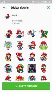 WAStickerApps - Games stickers for Whatsapp スクリーンショット 6