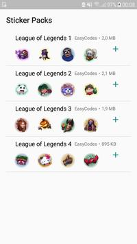 League stickers for WhatsApp - WAStickerApps poster