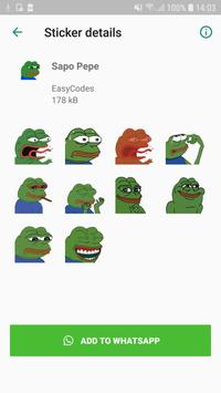 Brazilian Memes Stickers - WhatsApp WAStickerApps captura de pantalla 2