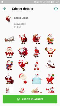 Christmas Stickers captura de pantalla 3