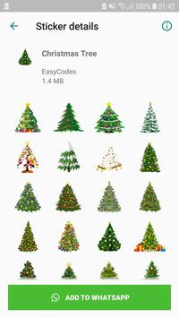 Christmas Stickers captura de pantalla 2