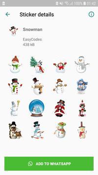Christmas Stickers captura de pantalla 4