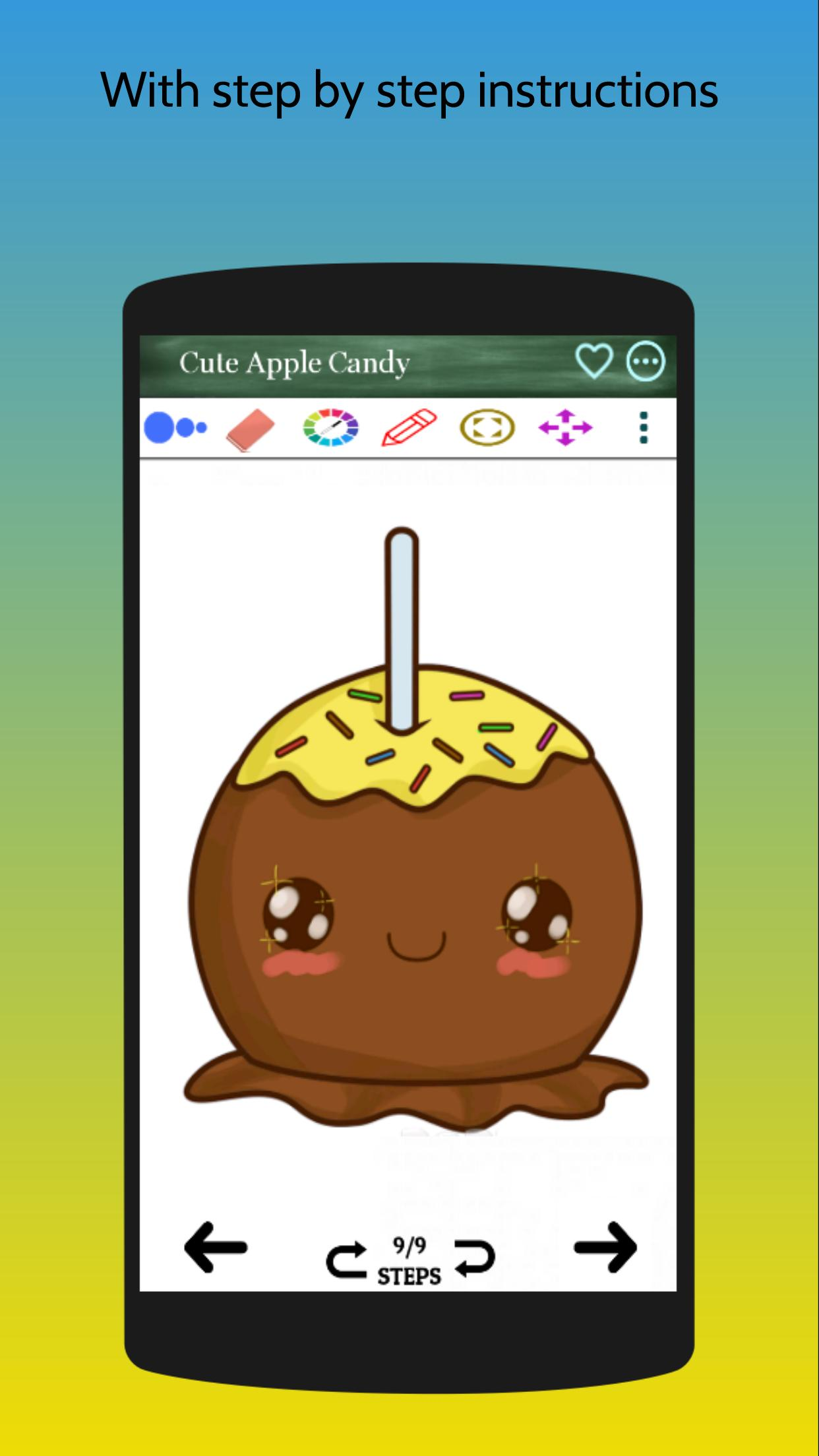 How To Draw Cute Cartoon Candy For Android APK Download