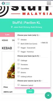 EasyEats: pre-order & arrive with your meals ready screenshot 3