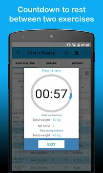 FastNFitness - Body, Cardio & Fitness tracking screenshot 4