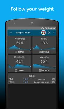 FastNFitness - Body, Cardio & Fitness tracking screenshot 2
