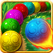Install Game Puzzle android Marble Legenda hot