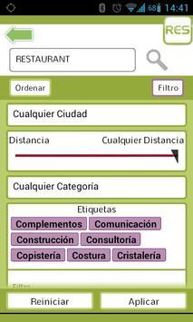 RES catalog, official app screenshot 1