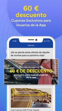 QEEQ Rent-A-Car: Alquiler Coches captura de pantalla 2