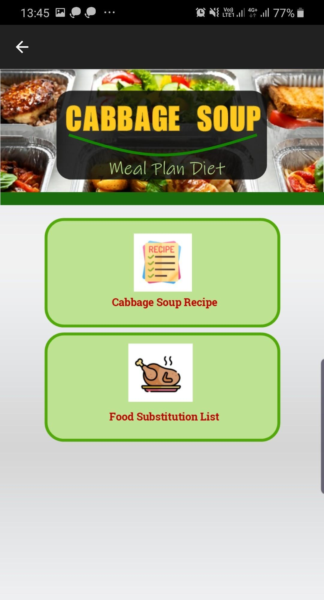 Cabbage Soup Diet Plan For Android Apk Download
