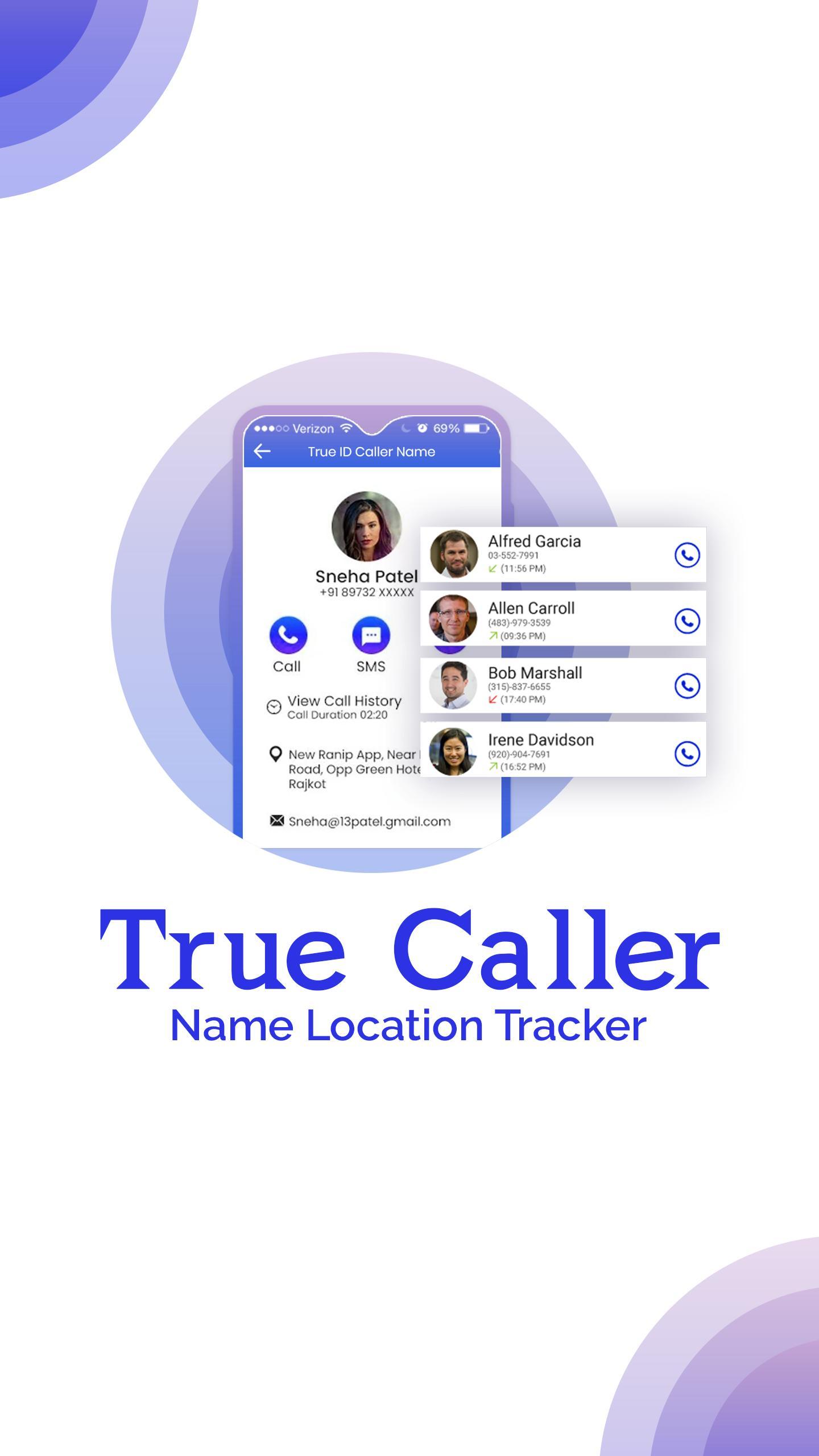 Caller ID Name & Location :Truecaller Name Address for