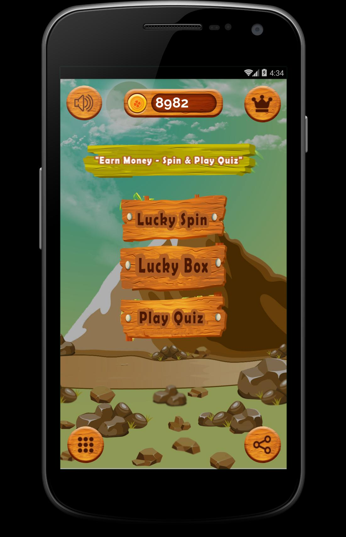 Earn Money - Spin & Play Quiz for Android - APK Download
