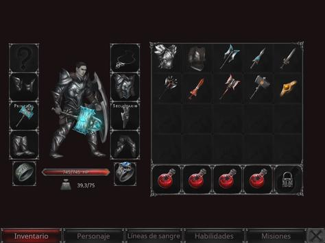 Vampire's Fall: Origins captura de pantalla 10