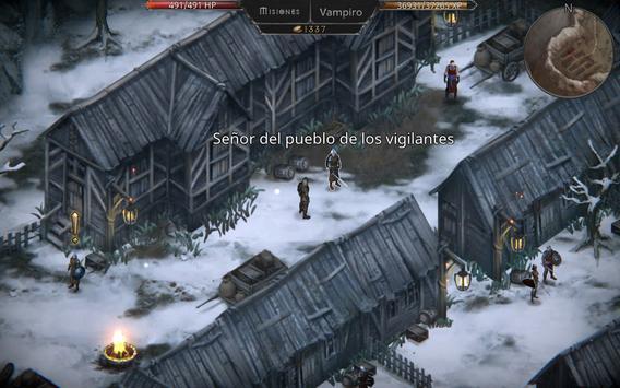 Vampire's Fall: Origins captura de pantalla 3