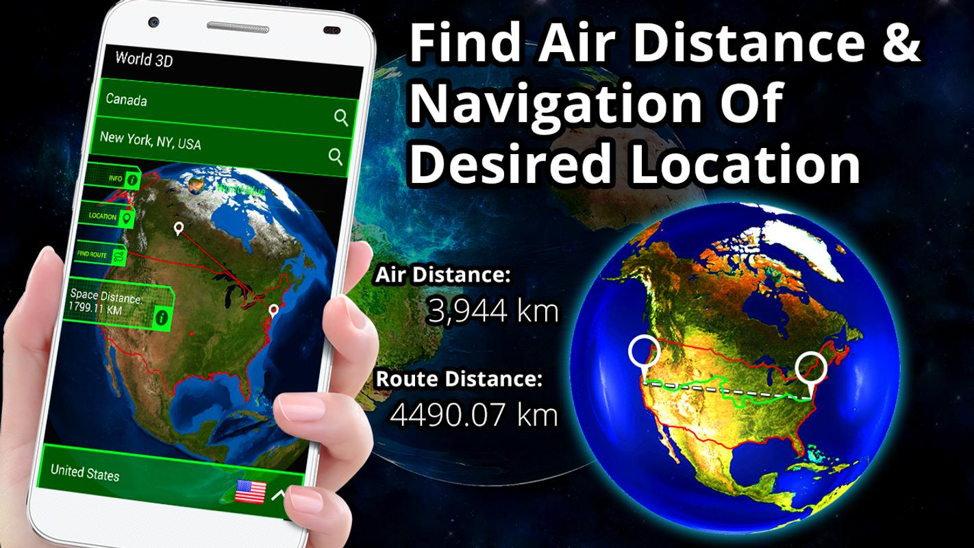 3d Earth Globe World Map Panorama 360 Satellite For Android Apk