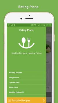 Healthy Eating Meal Plans screenshot 3