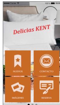 Delicias KENT poster