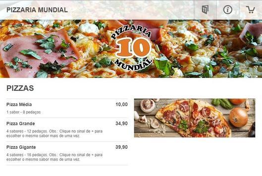 Pizzaria Mundial screenshot 4