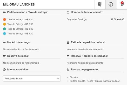Mil Grau Lanches screenshot 7
