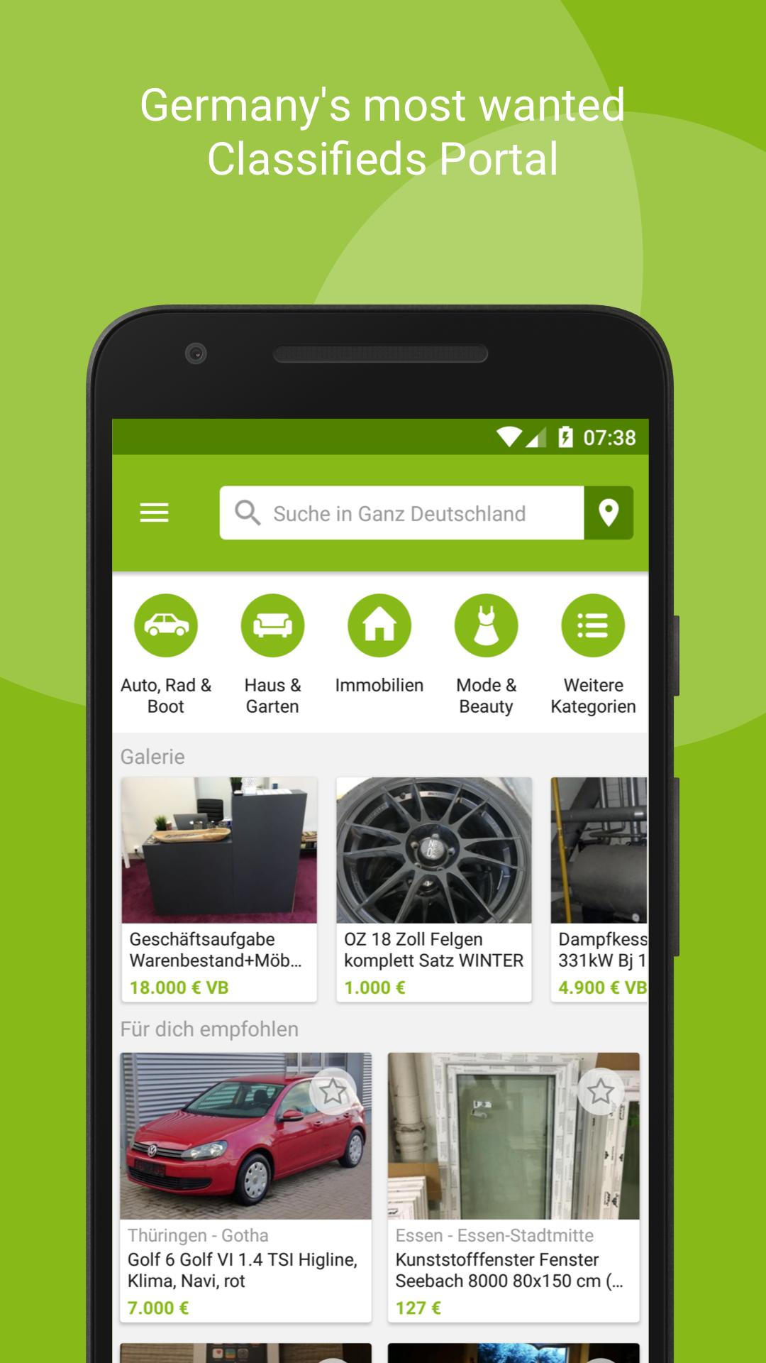 eBay Kleinanzeigen for Android - APK Download
