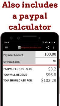 ebayfeescalculator.com - US, UK, AU, CA sellers screenshot 6