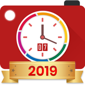 Auto Stamper: Timestamp Camera App for Photos 2019 icon
