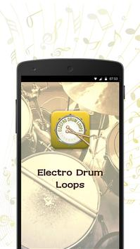 Electro Drum Loops poster