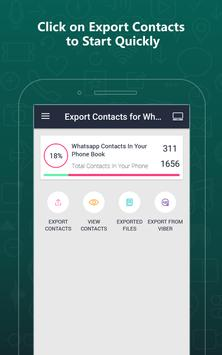 Export Contacts For WhatsApp screenshot 14