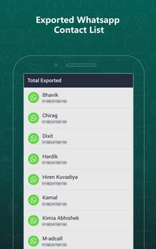 Export Contacts For WhatsApp screenshot 9
