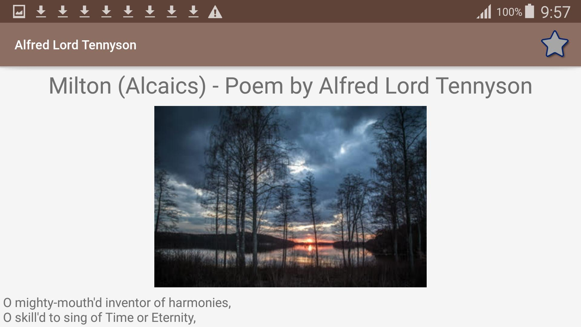 Alfred Lord Tennyson Poems For Android Apk Download
