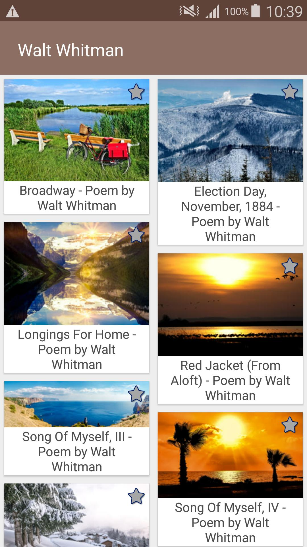 Walt Whitman Poems For Android Apk Download