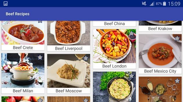 Beef and Hamburgers Recipes screenshot 9