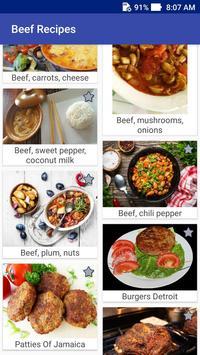 Beef Recipes! Burgers Recipes! screenshot 3