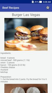 Beef Recipes! Burgers Recipes! screenshot 4