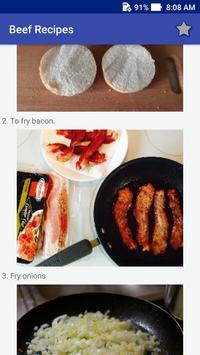 Beef Recipes! Burgers Recipes! screenshot 5