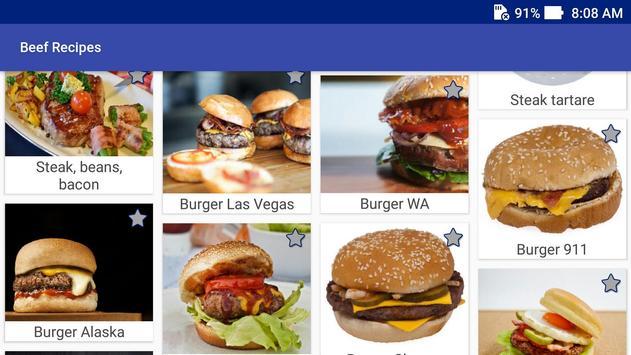 Beef Recipes! Burgers Recipes! screenshot 8