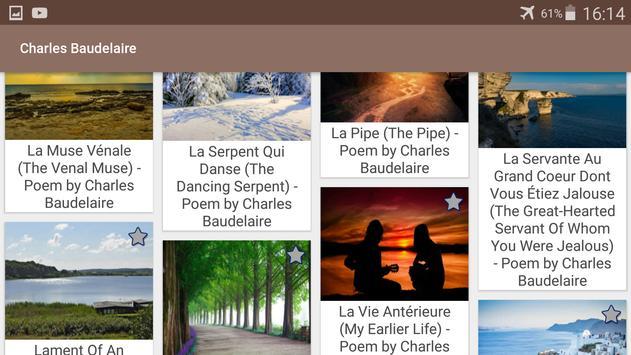 Charles Baudelaire screenshot 8
