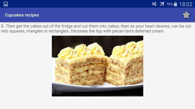 Cupcakes Recipes screenshot 15