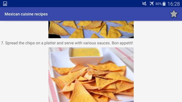 Mexican Cuisine Recipes screenshot 14