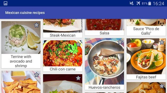 Mexican Cuisine Recipes screenshot 16