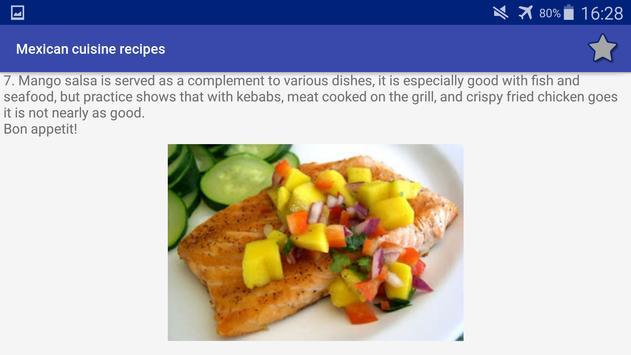 Mexican Cuisine Recipes screenshot 12