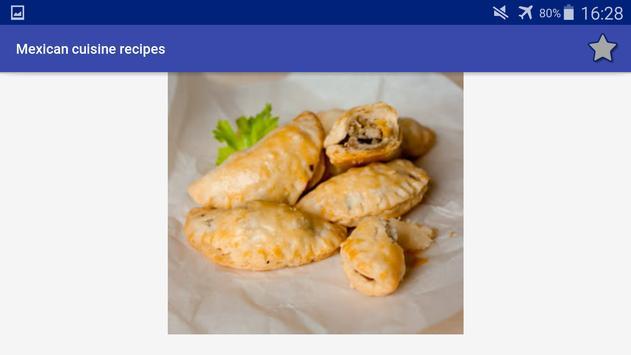 Mexican Cuisine Recipes screenshot 13