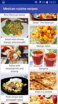 Mexican Cuisine Recipes screenshot 3